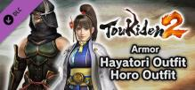 Toukiden 2 - Armor: Hayatori Outfit / Horo Outfit