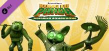 Kung Fu Panda: Jombie Monkey, Jombie Shifu, Jombie Crane