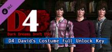 D4: David's Costume Full Unlock Key