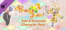 100% Orange Juice - Saki & Kyousuke Character Pack