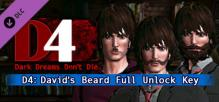 D4: David's Beard Full Unlock Key