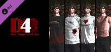 D4: SWERY's Choice Costume Set -4 Bottles of Tequila-