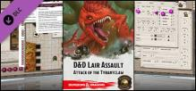 Fantasy Grounds - Dungeons & Dragons - Lair Assault: Attack of the Tyrantclaw (5E)