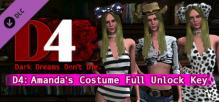 D4: Amanda's Costume Full Unlock Key