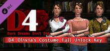 D4: Olivia's Costume Full Unlock Key