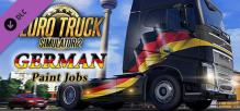 Euro Truck Simulator 2 - German Paint Jobs Pack