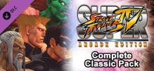 Super Street Fighter IV: Arcade Edition - Complete Classic Pack