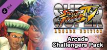 Super Street Fighter IV: Arcade Edition - Arcade Challengers Pack