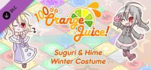 100% Orange Juice - Suguri & Hime Winter Costumes