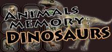 Animals Memory: Dinosaurs