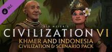 Civilization VI - Khmer and Indonesia Civilization & Scenario Pack