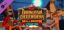 Dungeon Defenders Halloween Costume Pack
