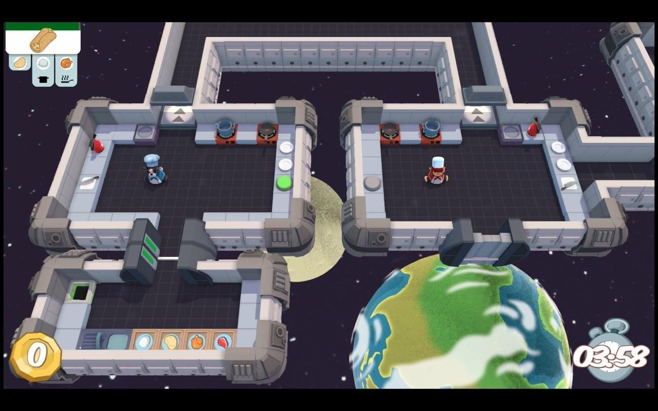 Captura de pantalla de Overcooked de PS4
