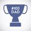 Number 100 Dad
