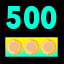 Get a total of 500 score